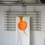 Orange Turnip Tea Towel