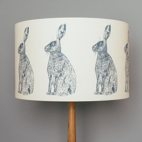 Blue Hare Lampshade