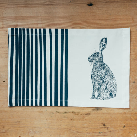 Blue Hare Placemat Gift Set