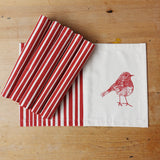 Christmas Robin Placemat Gift Set