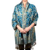 Paisley Floral Branches Pashmina