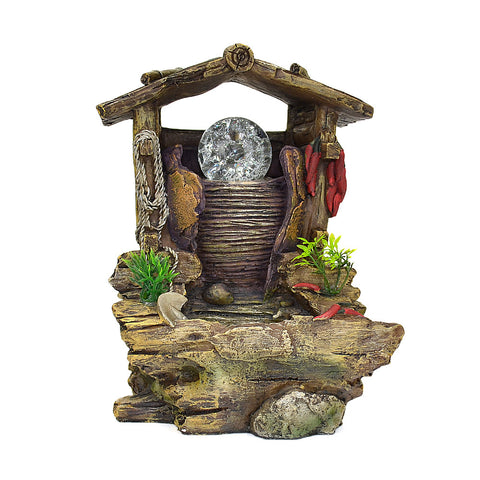 Hovel & Well Water Fountain #10494
