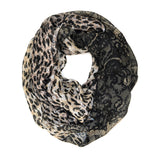 "BULK/LOT SALE - 64"" Leopard Cheetah Infinity Scarf BUYING ALL ONLY"