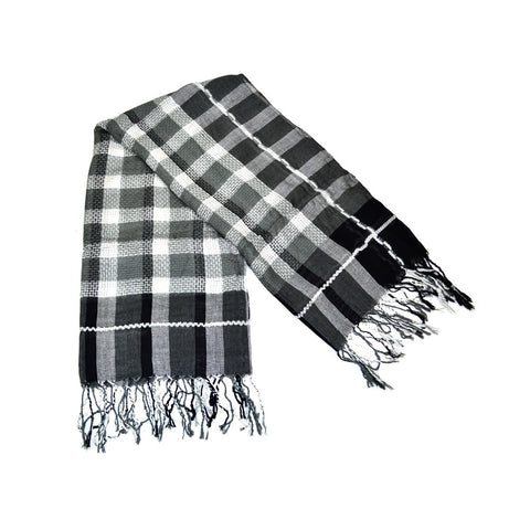Plaids & Checks Square Scarf