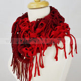 "46"" Two Tone Net Infinity Scarf"