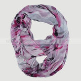 "64"" Oil Paint Infinity Scarf"