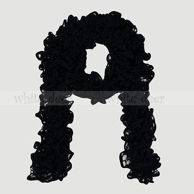 "72"" Ruffled Fluffy Winter Scarf"