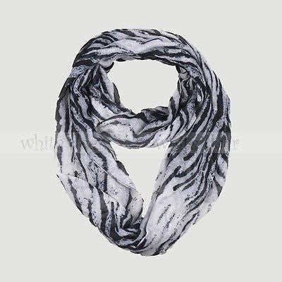 "64"" Tiger Infinity Scarf"