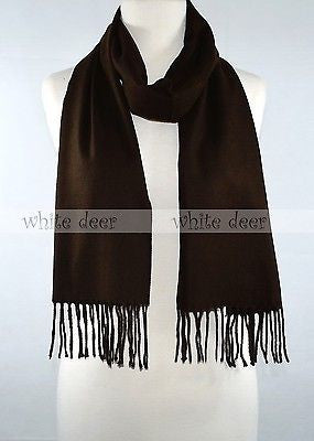 "66"" Solid Color Wool Feel Scarf"