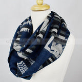 "68"" Diamond Infinity Scarf"