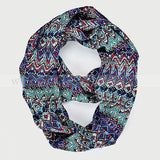 "BULK/LOT SALE - 62"" Vintage Pattern Infinity Scarf BUYING ALL ONLY"