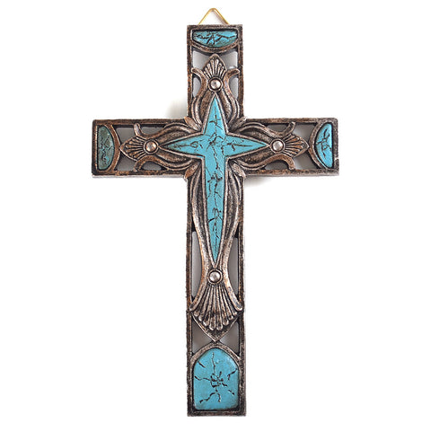 "8"" Carving Wall Cross"