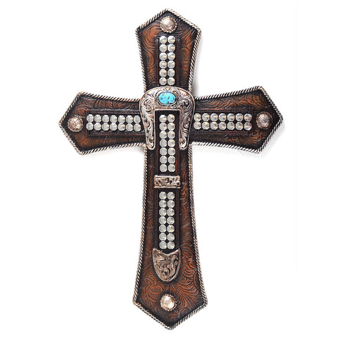 "13"" Buckle Wall Cross"
