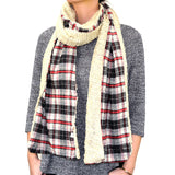 "BULK/LOT SALE - 80"" Plaids Checks Double Layer Warm Scarf BUYING ALL ONLY"