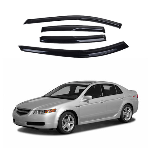 Acura TL 04-08 Acrylic Side Window Vent Visor Sun Rain Deflector Guard