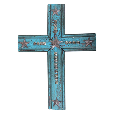 "20"" Texas Lone Star Wall Cross"
