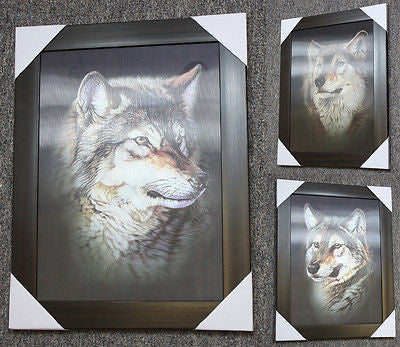 Wolf Head 3D Picture PTD03