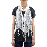 "BULK/LOT SALE - 62"" Furball Lace Scarf BUYING ALL ONLY"