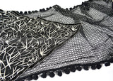 "BULK/LOT SALE - 76"" Glitter Fishnet Double Layer Scarf BUYING ALL ONLY"