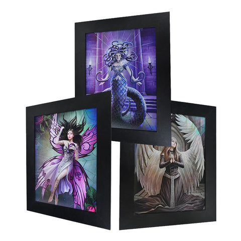 Fairy, Medusa & Angel 3D Picture PTC03