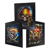 Pirate Skull 3D Picture PTC21