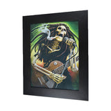Band Skull 3D Picture PTC38
