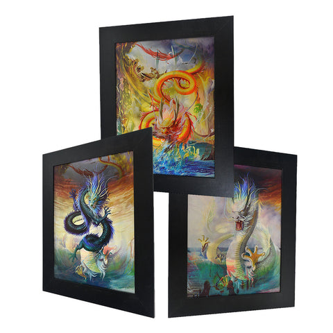 Asian Dragon 3D Picture PTD01