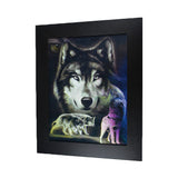 Night Wolf 3D Picture PTD11