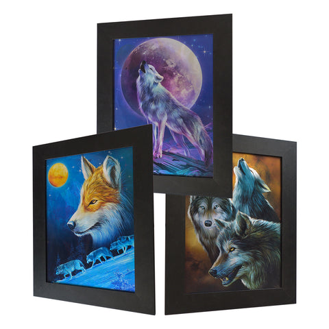 Full Moon Wolf 3D Picture PTD60