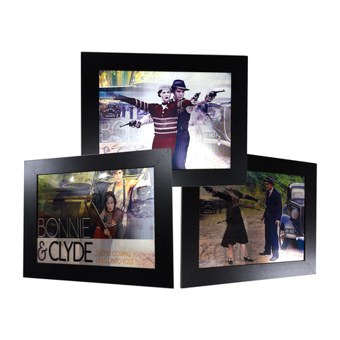 Bonnie & Clyde II 3D Picture PTP33