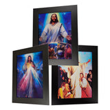 Jesus Embrace World 3D Picture PTR06