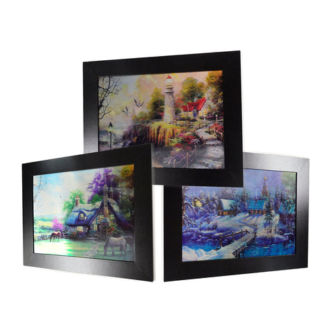 Oil Painting Scenery 3D Picture PTS11