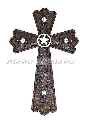 "15"" Texas Lone Star Wall Cross"