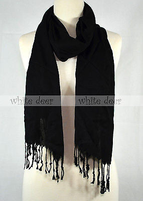 "66"" Solid Color Scarf"