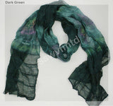 "72"" Gradient Soft Wrinkled Scarf"