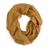 "64"" Solid Color Infinity Scarf"
