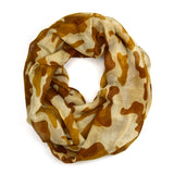 "64"" Camouflage Infinity Scarf"