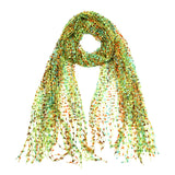 "64"" Multi Color Confetti Scarf"