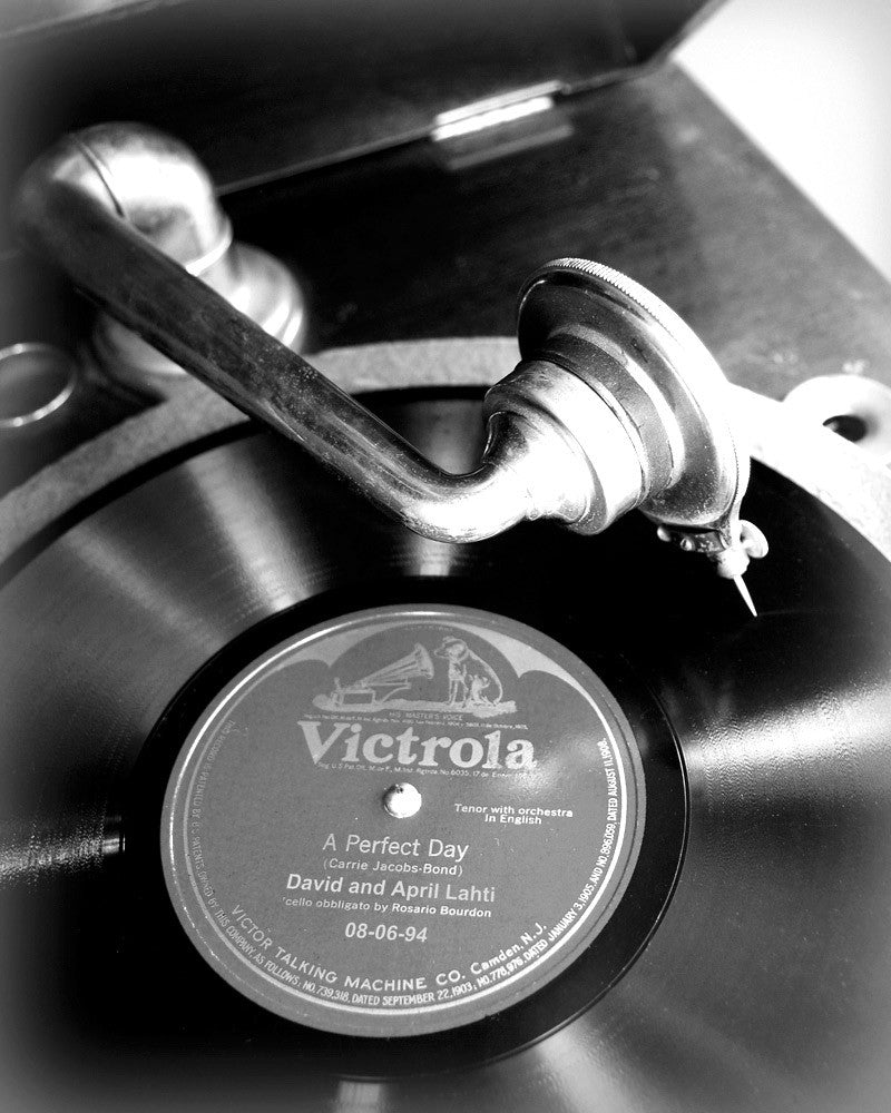 Vintage Record Personalized Print