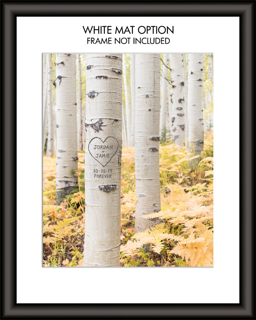 Aspen Forest Personalized Art
