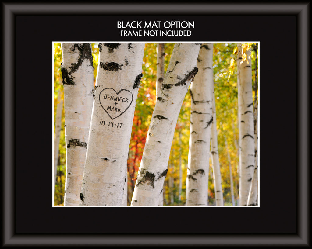 Birch tree personalized