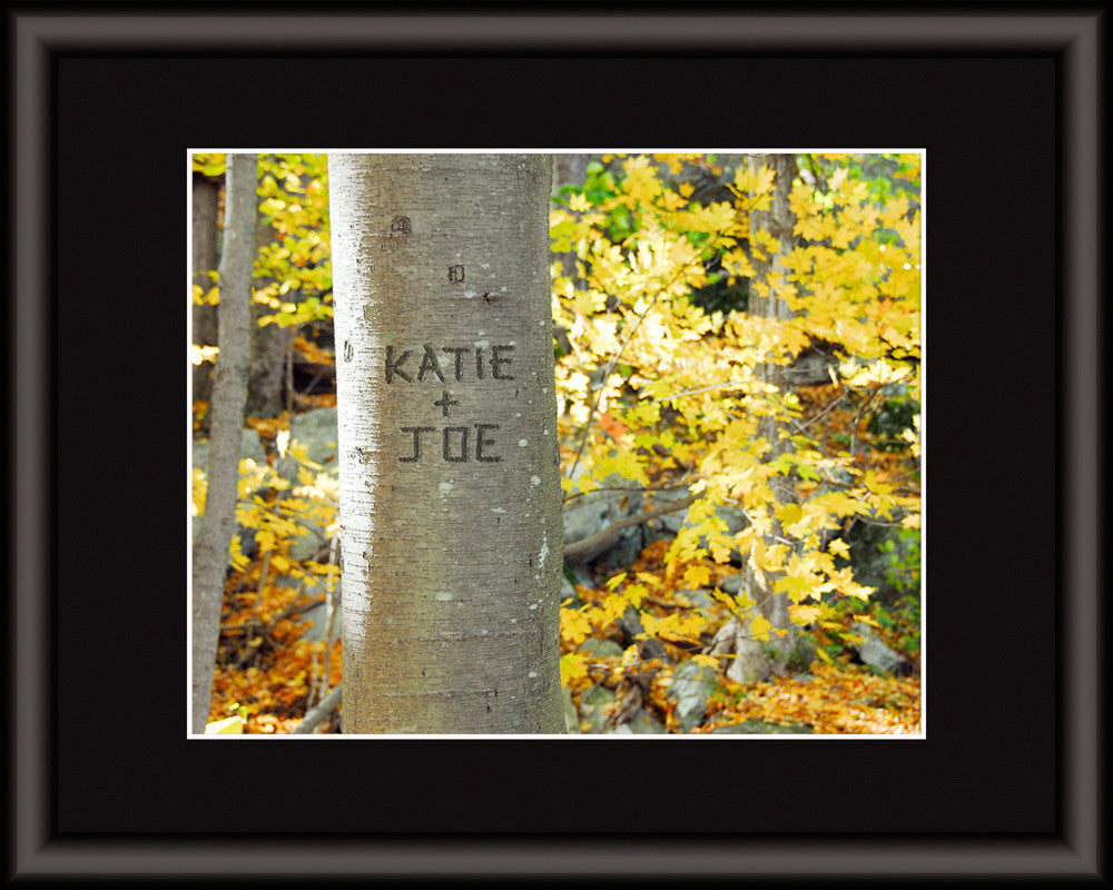 personalized tree autumn
