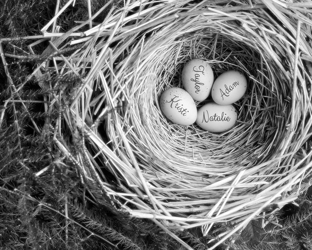 Mother's Nest Personalized Art