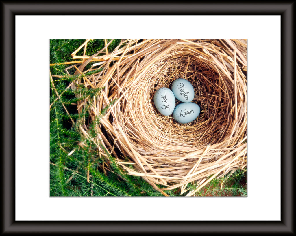 personalized eggs print