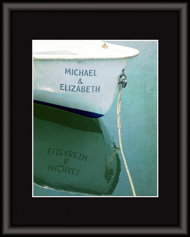 personalized boat wall art