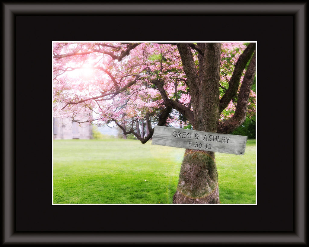 Cherry Tree Personalized Art Print