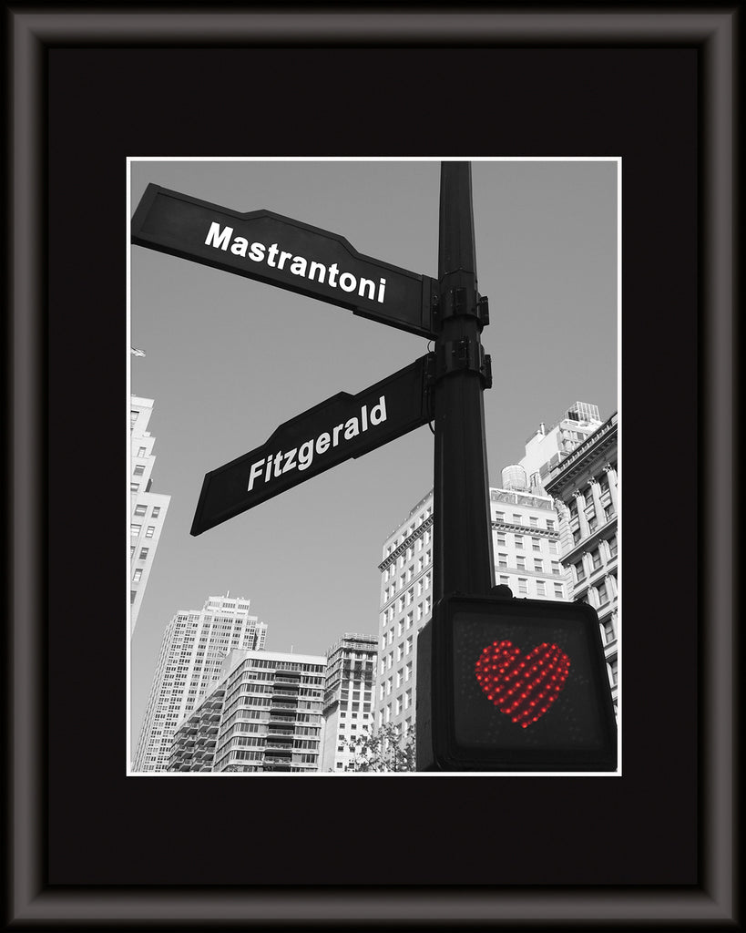personalized street sign art