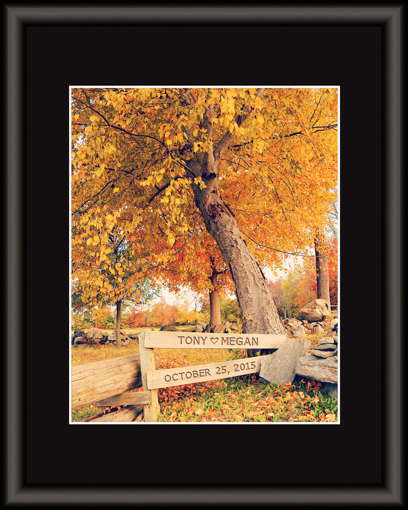 custom fall decor print