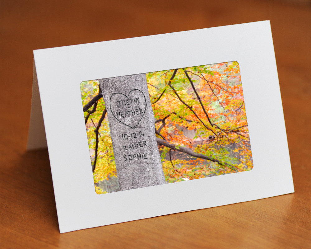Personalized Family Tree Card