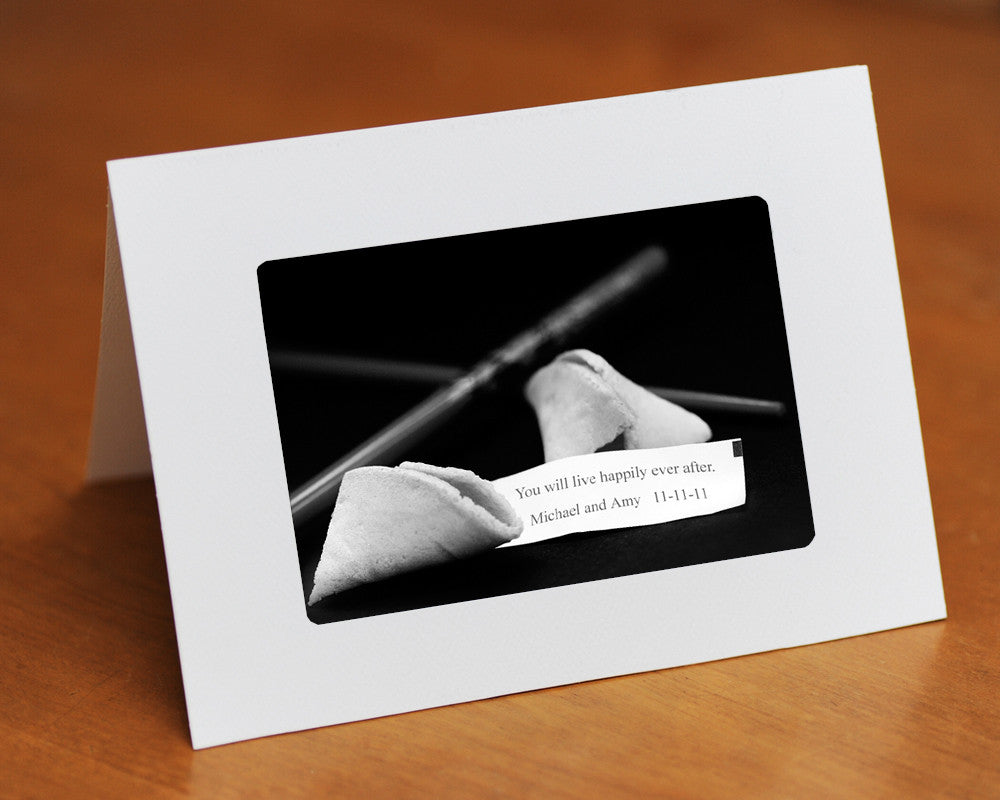 custom fortune cookie card
